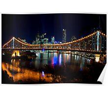 Brisbane Lights Poster