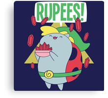 Rupees! Canvas Print