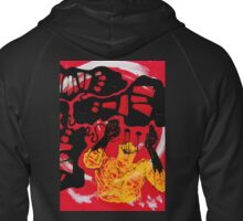 The Oily Void Zipped Hoodie