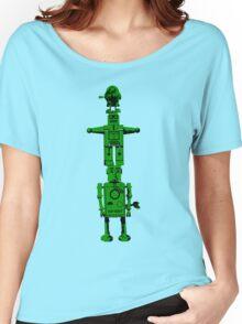 Robot Totem - BiLevel Green Women's Relaxed Fit T-Shirt
