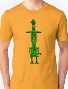 Robot Totem - BiLevel Green T-Shirt