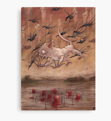 A Slip in the Loch Canvas Print