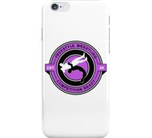 Freestyle Wrestling Competition Ready Suplex Purple  iPhone Case/Skin