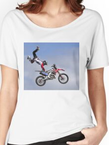 Bolddog Lings FMX Motorcycle Display Team Women's Relaxed Fit T-Shirt