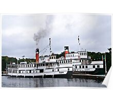 R.M.S. Segwun and the Wenonah ll Poster