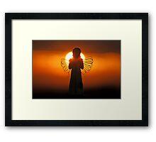 Dawn of an Angel Framed Print