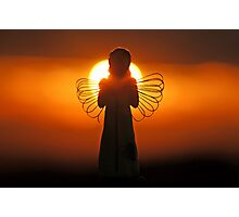 Dawn of an Angel Photographic Print