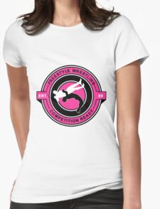 Freestyle Wrestling Competition Ready Suplex Pink  Womens Fitted T-Shirt