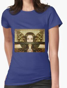 Mute witness Womens Fitted T-Shirt