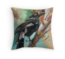 bird-12 Throw Pillow