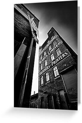 ...block print.... by Russ Styles