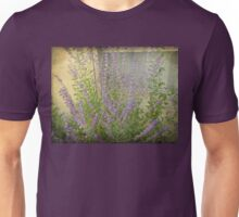 Lavender Outside Her Window Unisex T-Shirt
