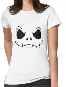 Jack Skeleton Womens Fitted T-Shirt