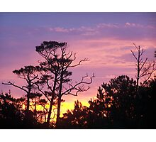 colourful morning sky Photographic Print