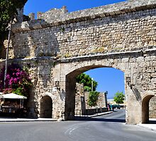 Rhodes old town. by FER737NG