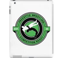 Freestyle Wrestling Competition Ready Suplex Green  iPad Case/Skin