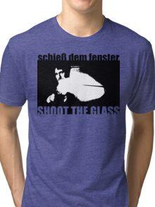 Die Hard: Shoot the glass Tri-blend T-Shirt