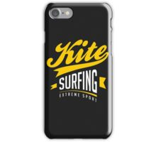 Kitesurf Extreme Sport Art10c iPhone Case/Skin