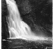 Main Falls at Bushkill Falls by Aaron Campbell