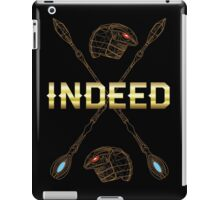 Indeed sci-fi famous quote iPad Case/Skin