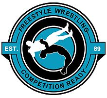 Freestyle Wrestling Competition Ready Suplex Blue  by yin888