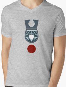 Star Blazers: Wave Motion Technologies Logo Mens V-Neck T-Shirt