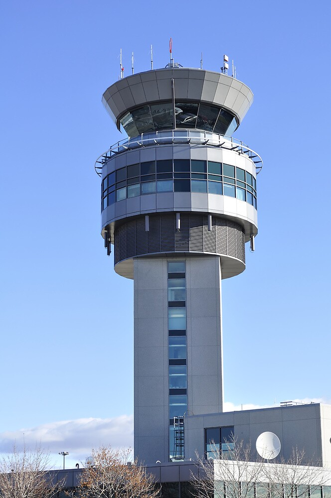 Airport Control Tower. by FER737NG