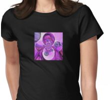 Tree Carrousel Womens Fitted T-Shirt