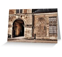French Structure Greeting Card
