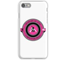 Brazilian Jiu Jitsu Competition Ready Triangle Choke Pink  iPhone Case/Skin