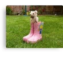Ted in Boots! Canvas Print