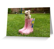 Ted in Boots! Greeting Card