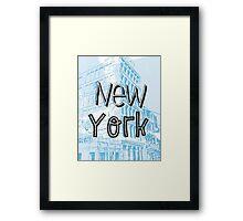 NY Day Framed Print