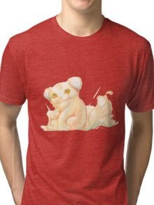 Fantastic Furry Creature Tri-blend T-Shirt