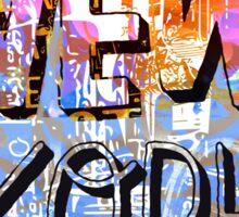 New York WOW Sticker