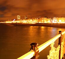 Brighton From Pier by Jamie O'Mara