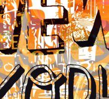 New York style Sticker