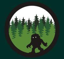 Sasquatch By Day - Noirgraphic Original by NoirGraphic