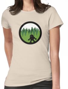 Sasquatch By Day - Noirgraphic Original Womens Fitted T-Shirt