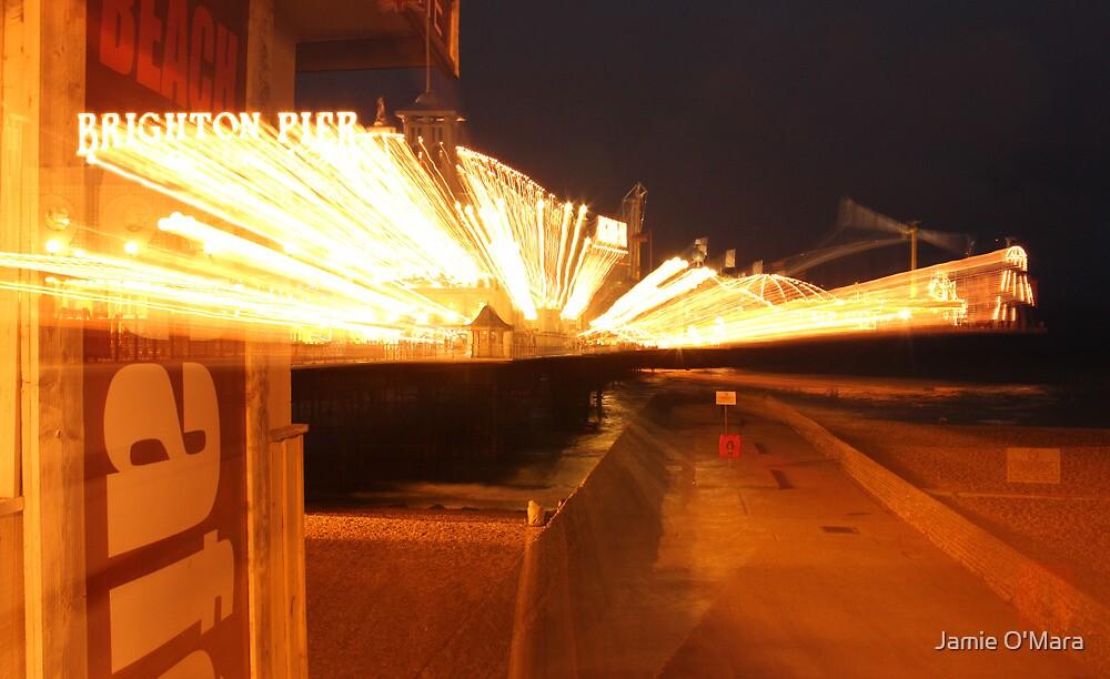 Brighton Pier Lights by Jamie O'Mara