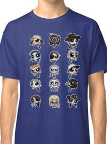 The Walking Dead Puffs Parody Classic T-Shirt