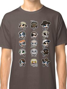 The Walking Dead Puffs Parody Classic T-Shirt