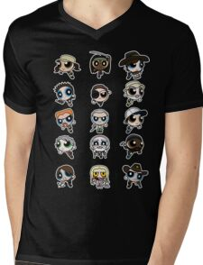 The Walking Dead Puffs Parody Mens V-Neck T-Shirt
