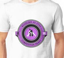 Brazilian Jiu Jitsu Competition Ready Triangle Choke Purple  Unisex T-Shirt