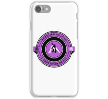 Brazilian Jiu Jitsu Competition Ready Triangle Choke Purple  iPhone Case/Skin