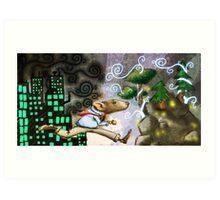 Rat Race Escape Art Print
