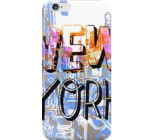 New York WOW iPhone Case/Skin