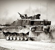 """""""Heavy Armour""""- Challenger 2 Main BattleTank (MBT) British Army by Andrew Harker"""