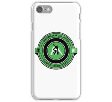 Brazilian Jiu Jitsu Competition Ready Triangle Choke Green  iPhone Case/Skin