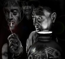 THE PETER LORRE HOMAGE ! by Ray Jackson